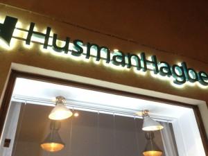 HusmanHagberg – Ljusskyltar