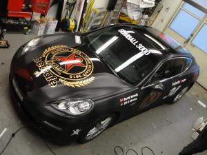 Bildekor – Porsche Betsafe Gumball 3000