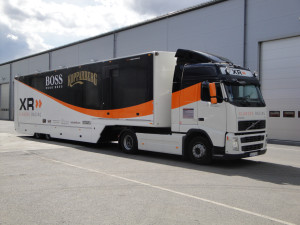 Lastbilsdekor – Xlander Racing