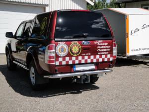 Bildekor – Räddningstjänsten Sotar-bil