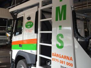 Lastbilsdekor – S.M.S. Bärgarna