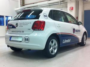 Bildekor – Scania Lånebilar