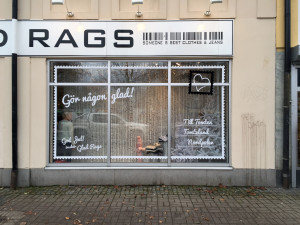 Skyltfönster – Julskyltning, Glad Rags