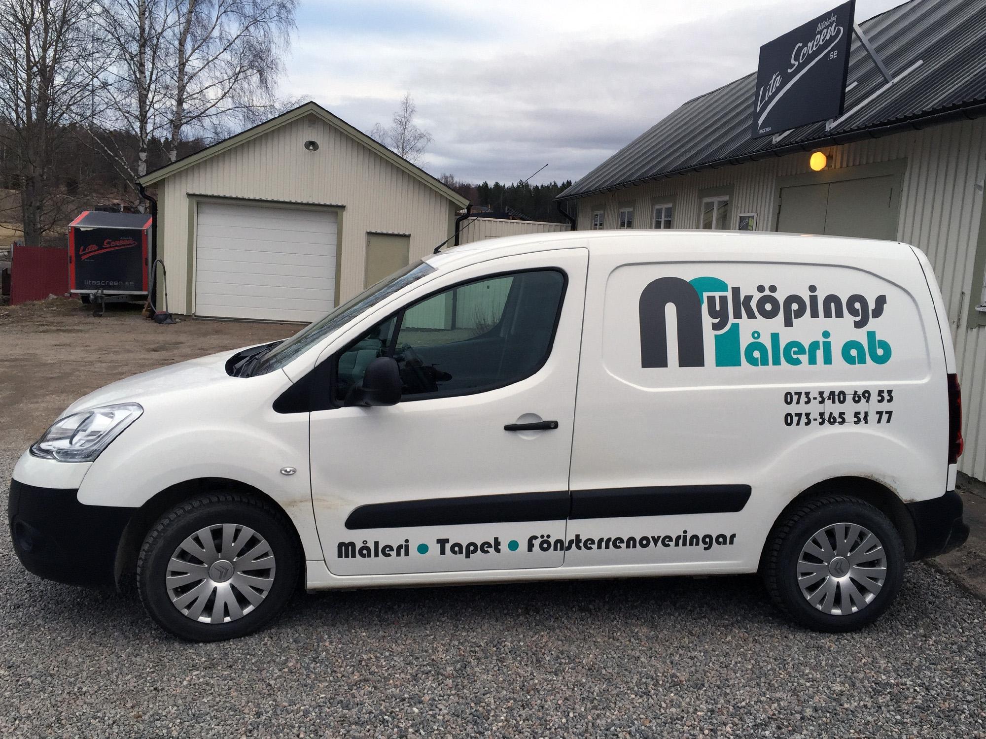 Nyköpings Måleri Bildekor Citroen