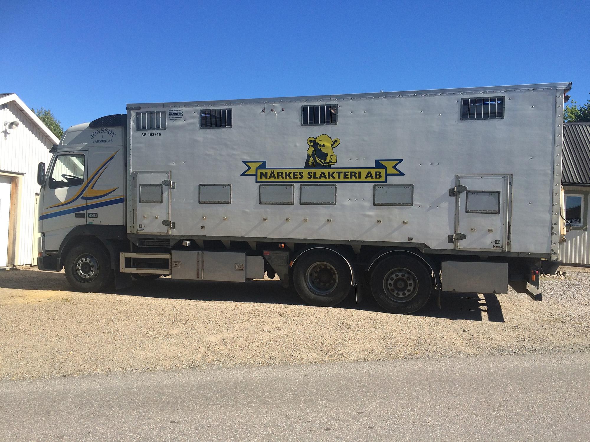 Lastbilsdekor – Jonsson i Vadsbro AB